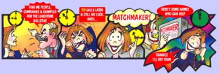cartoon strip matchmaker marketing and sales