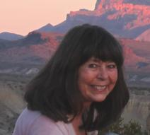 Big Bend Artist Lindy Cook Severns in the Chisos Mountains