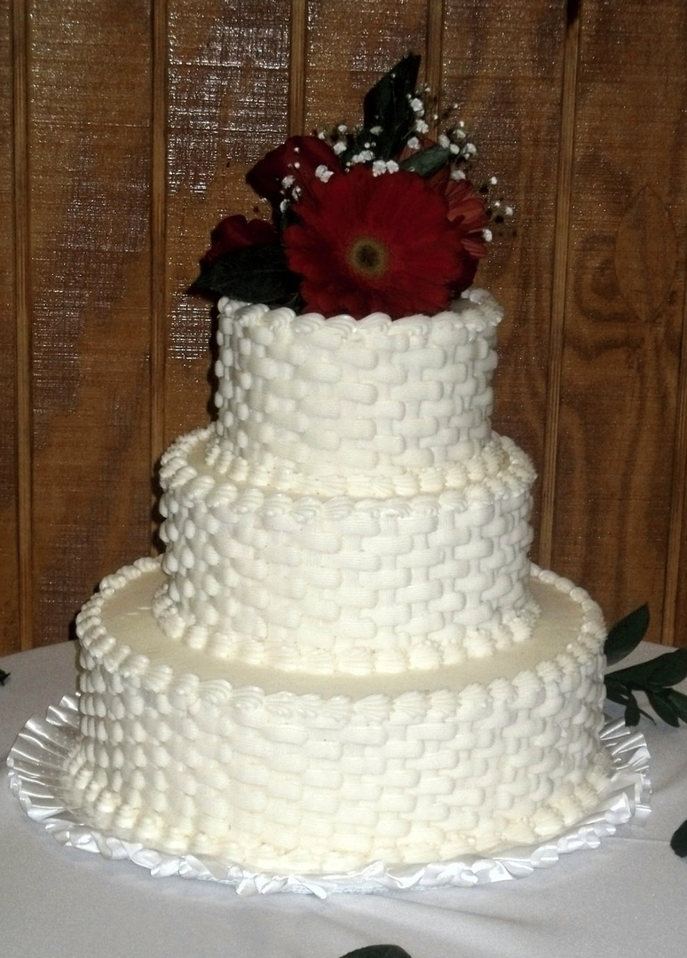 classically styled wedding cakes