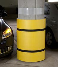 Park Sentry Round column protector can fit around almost any size round column.