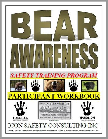 Bear Awareness Training - ICON SAFETY CONSULTING INC.