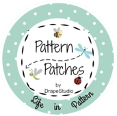 Pattern Patches Shop on ETSY