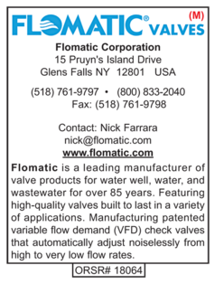 Flomatic, Water Well Products