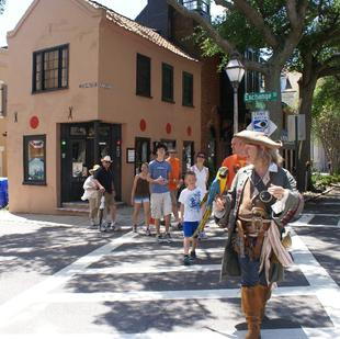 Charleston SC walking tour