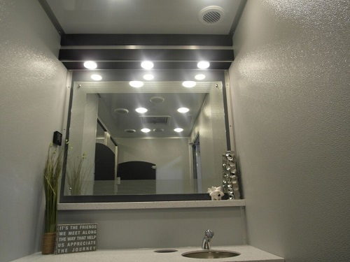 Portable Luxury Restroom Trailers and Porta Potty Rentals