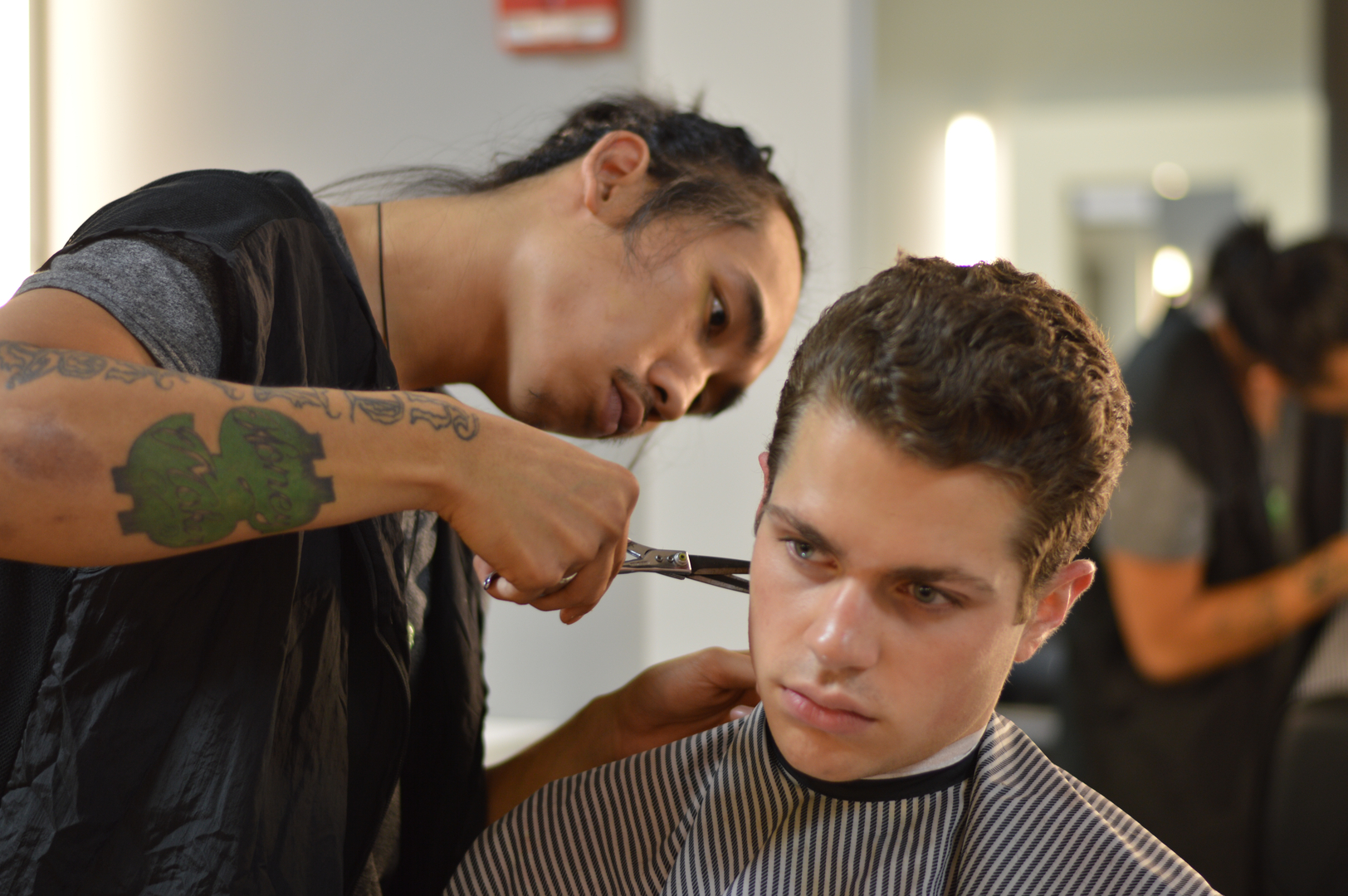 Classic Man Cut Shave Barbershop Haircuts Barber Shops