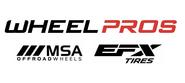 Wheel Pros MSA Wheels EFX Tires Motohammer Motovater Motoclaws