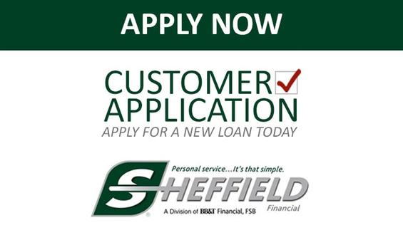 Trailer Financing Credit Application Sheffield