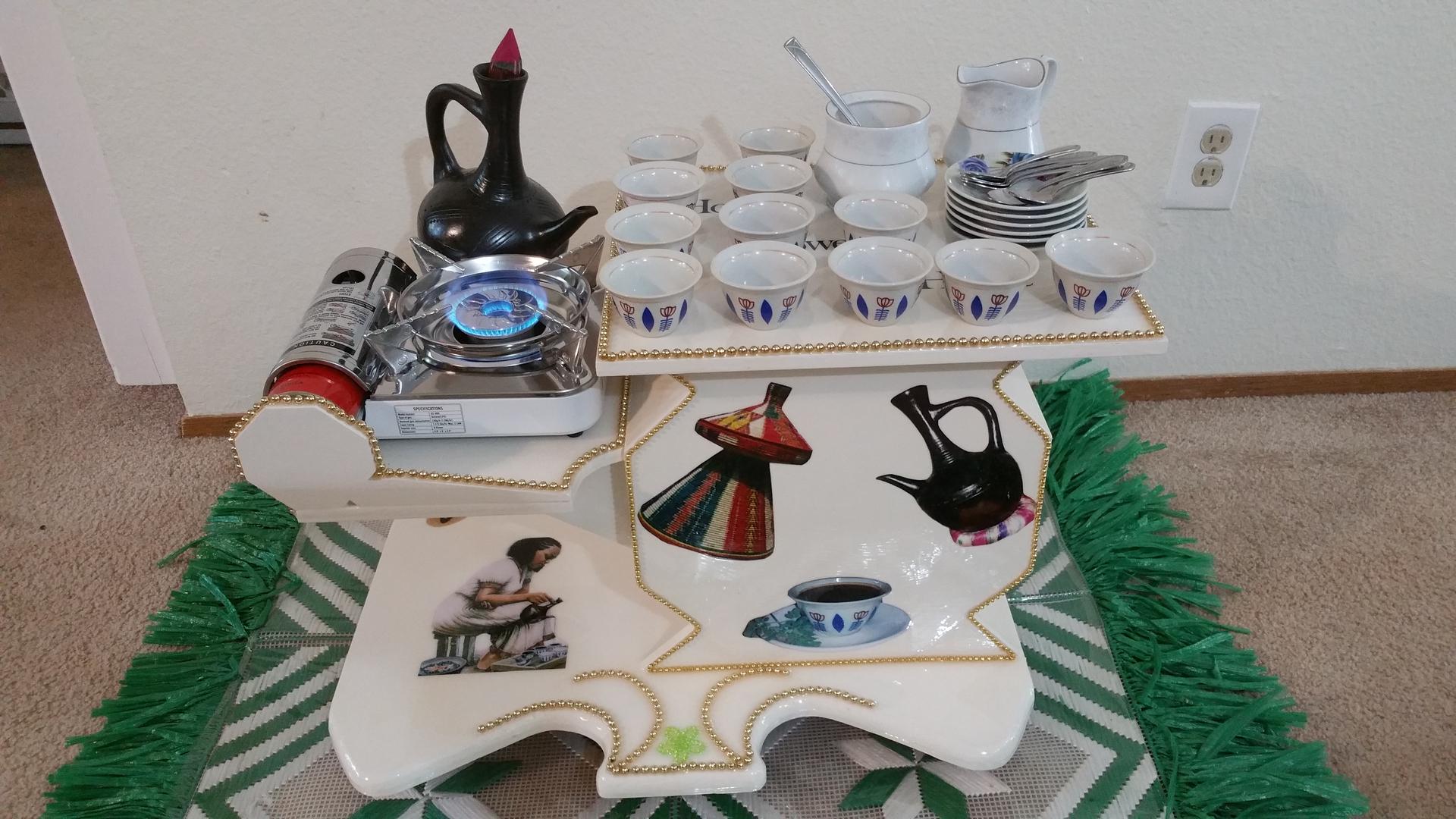 Beautiful Eritrean Coffee Table