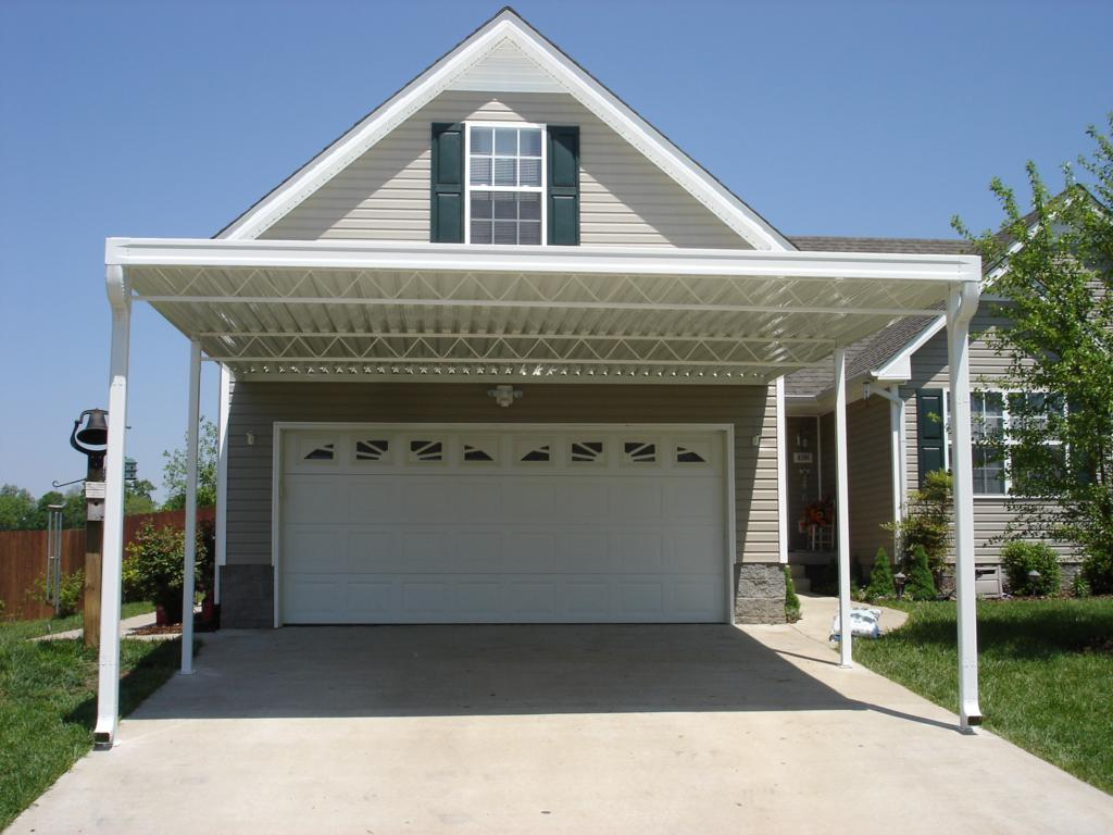 Ameriway Roofing  Exteriors Carports Patio Covers - Carport off house