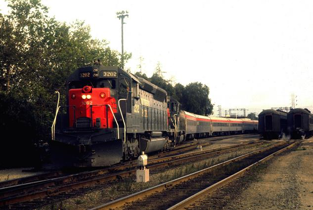 First North (SP West) bound Coast Starlight at San Jose, May 1st 1971. Photo by Drew Jacksich.