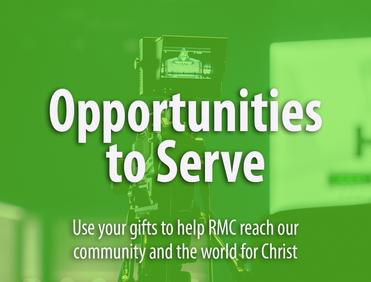 Rocky Mountain Chapel Opportunities to Serve