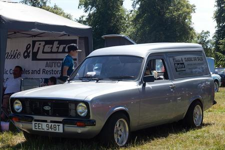 1979 MK2 FORD ESCORT VAN WITH MOT SHOW CONDITION REBUILT 1600 CROSSFLOW MK1