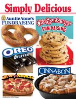 Simply Delicious Otis Spunkmeyer Cookie Dough Fundraiser
