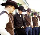 western wedding picture
