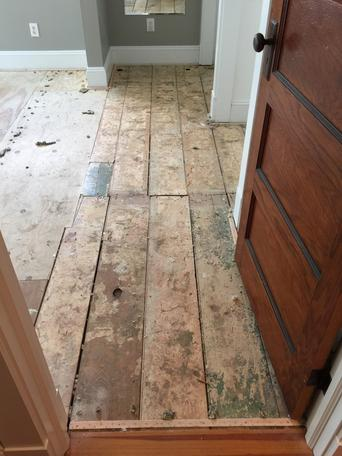 Subfloors/Different types of subfloors/subfloor repair/subfloor prep work/what makes a sound subfloor/what types of flooring can be used over each subfloor type/flooring preparation in westchester county ny
