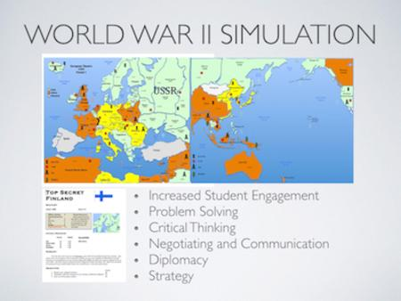 World War II Simulation Lesson Plan