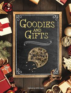 Goodies and Gifts Fundraiser Brochure