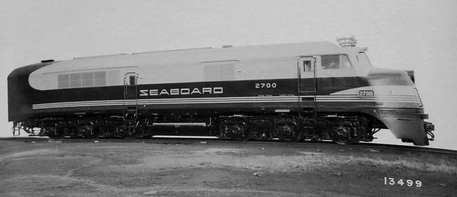 Seaboard Airline Railroad No. 2700, a DR-6-4-1500.