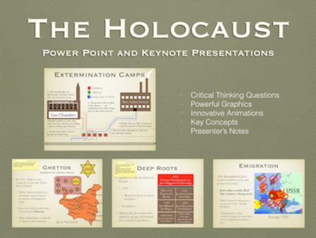 WWII: The Holocaust PowerPoint