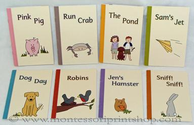 Miss Rhonda's Readers - Montessori language