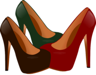 Women's shoes high heels Pixabay vector graphic