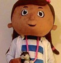 Doc McStuffins style Party Character