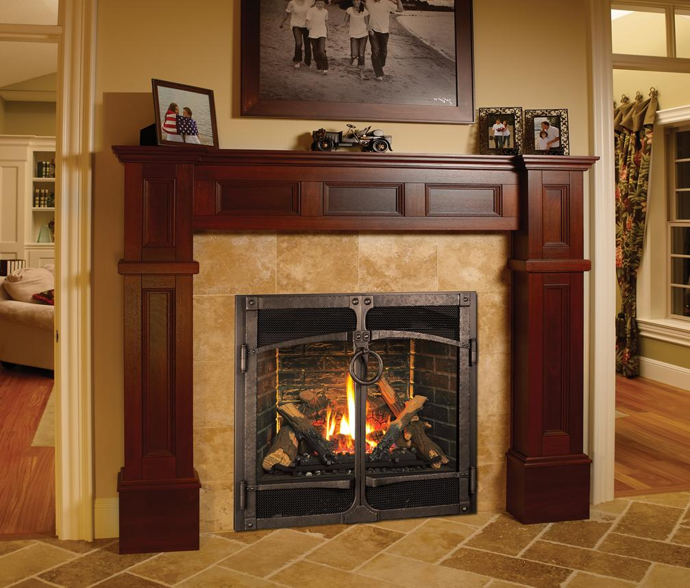 Fireplace Faces home of sunrooms plus. fireplace design center