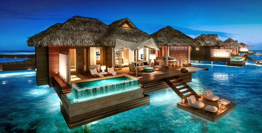 Sandals Royal Caribbean Over Water Bungalow