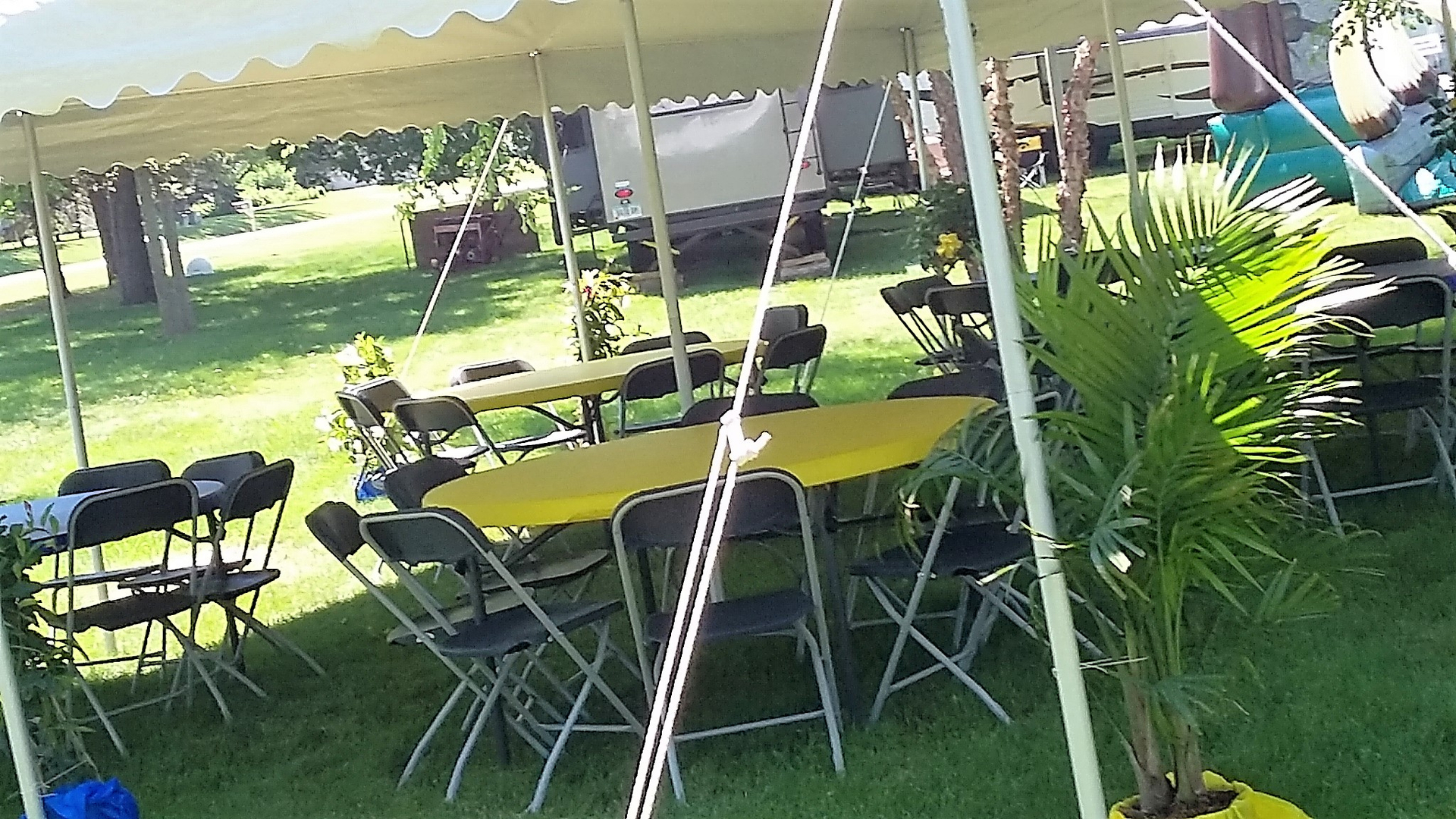 Tents Tables Chairs