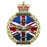 UK Military veterans Badge