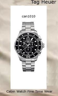 Product specifications Watch Information Brand, Seller, or Collection Name TAG Heuer Model number CAN1010BA0821 Part Number CAN1010BA0821 Model Year 2013 Item Shape Round Dial window material type Anti reflective sapphire Display Type Analog Clasp Fold-Over Clasp with Double Push-Button Safety Case material Stainless Steel Case diameter 44.5 Case Thickness 12.7 Band Material Stainless Steel Band length Mens-Standard Band width 21 millimeters Band Color Silver Dial color Black Bezel material Stainless Steel Bezel function Unidirectional Calendar Date Special features Chronograph Item weight 15.84 Ounces Movement Quartz Water resistant depth 1000 Feet