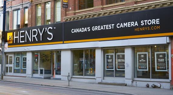 henry's camera store