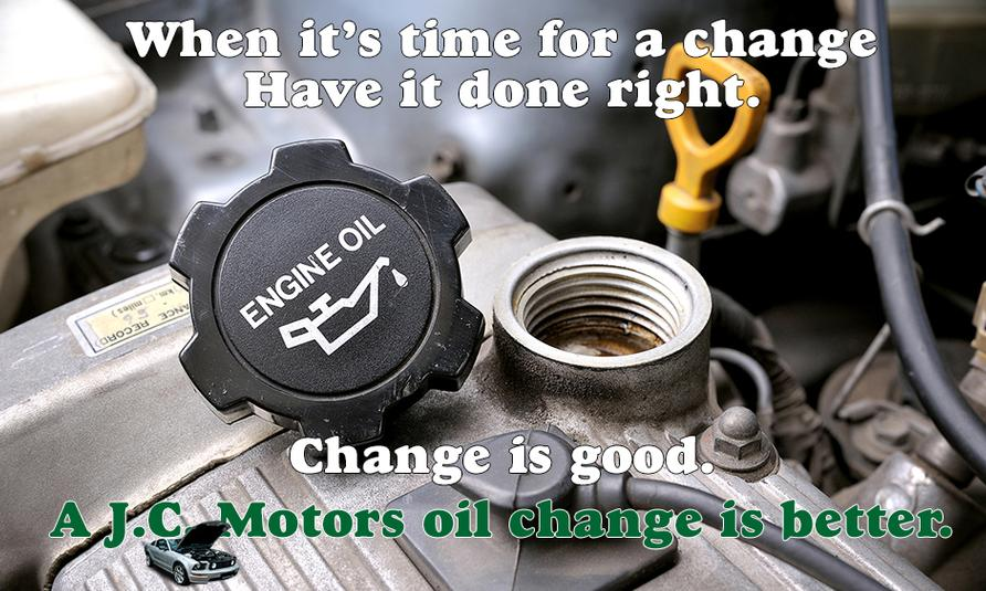 Oil change Tualatin, Tigard, Lake Oswego, Sherwood
