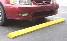 plastic parking block