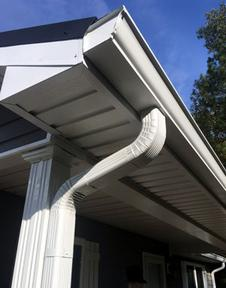 custom gutter installation