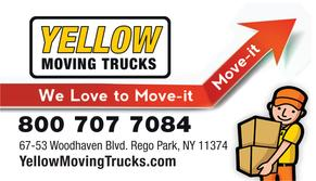 Yellow Moving Trucks Inc. Queens NY