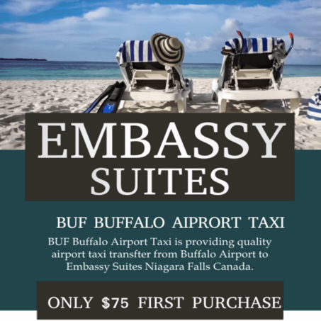 transportation from buffalo airport to embassy suites niagara falls