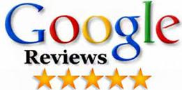 google logo for reviews.