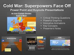 Cold War Superpowers Face Off History Presentation