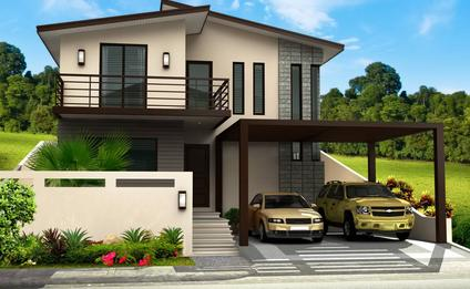Custom Home Architectural Design Rendering