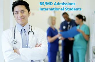 BS MD Admissions International Students