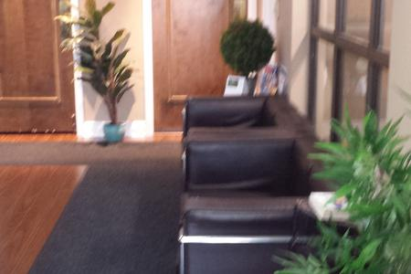 Tax client waiting area