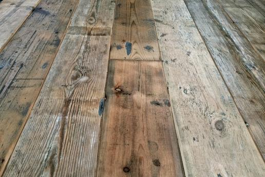 Flooring Trends for 2017 part II, Reclaimed hardwood flooring, wood flooring with varying-width planks