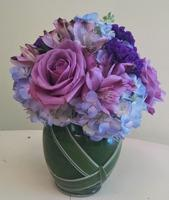 NB-MD16-3 Hydrangea, Alstromeria, and Roses. $50.00