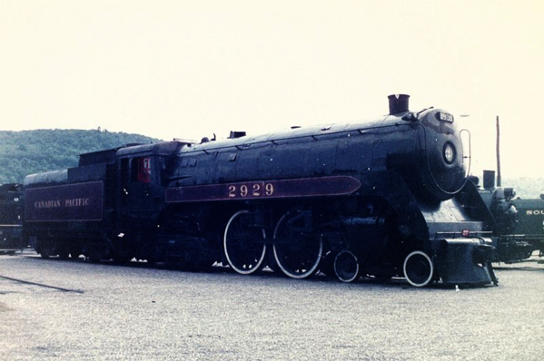 Canadian Pacific Railways Class F1a or Jubilee 4-4-4 No. 2929.