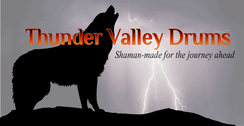 New logo for new April 2018 Thunder Valley Drums site