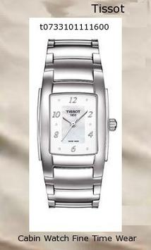 Product Specifications Watch Information Brand, Seller, or Collection Name Tissot Model number T10 Lady Part Number T073.310.11.116.00 Dial window material type Scratch Resistant Mineral Case material Stainless Steel Case diameter 29 millimeters Case Thickness 7 millimeters Band Material Stainless steel Band width 18 Dial color Mother of Pearl Bezel material Fixed Stainless Steel Movement Quartz