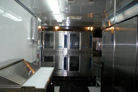 Portable Kitchen Rentals: New Republic 24' Interior View