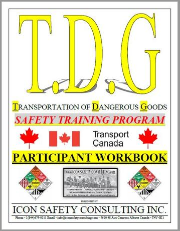 Transportation of Dangerous Goods - ICON SAFETY CONSULTING INC.